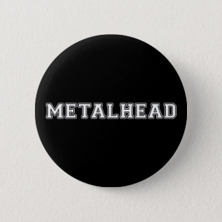 Bóton Redondo 5.08cm Metalhead