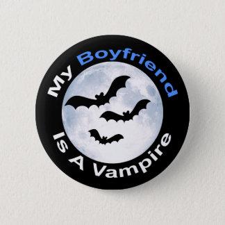 Bóton Redondo 5.08cm Meu namorado é um botão do vampiro