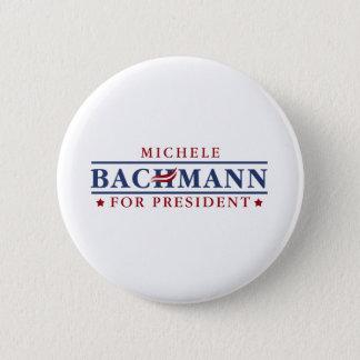 Bóton Redondo 5.08cm Michele Bachmann 2012