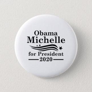 Bóton Redondo 5.08cm Michelle Obama 2020