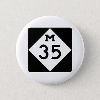 Bóton Redondo 5.08cm Michigan M-35