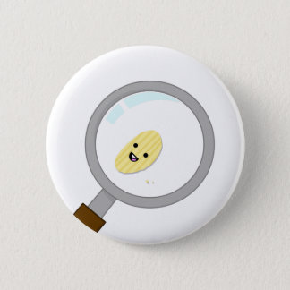 Bóton Redondo 5.08cm Micro microplaqueta