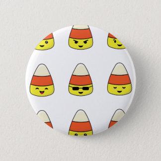 Bóton Redondo 5.08cm Milho de doces engraçado Emoji