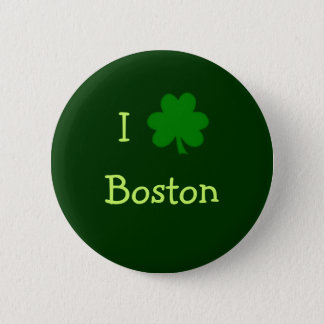 Bóton Redondo 5.08cm Mim botão de Boston do trevo