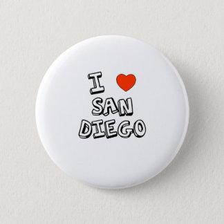 Bóton Redondo 5.08cm Mim coração San Diego