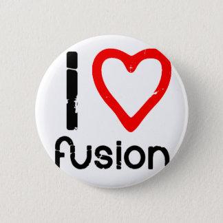 Bóton Redondo 5.08cm Mim fusão do coração
