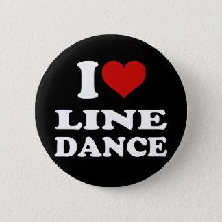 Bóton Redondo 5.08cm Mim linha dança do amor