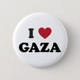 Bóton Redondo 5.08cm Mim palestino de Gaza do coração