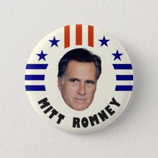Bóton Redondo 5.08cm Mitt Romney 2012