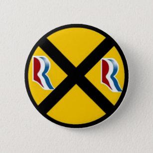 Bóton Redondo 5.08cm Mitt Romney & Paul Ryan expressam 2012