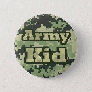 Bóton Redondo 5.08cm Miúdo do exército