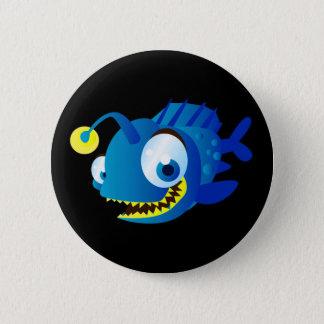 Bóton Redondo 5.08cm Moeda de um centavo o Piranha