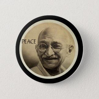 Bóton Redondo 5.08cm Mohandas Gandhi