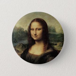 Bóton Redondo 5.08cm Mona Lisa