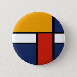 Bóton Redondo 5.08cm Mondrian Yorkie