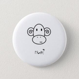 Bóton Redondo 5.08cm monkeyhuh? botão