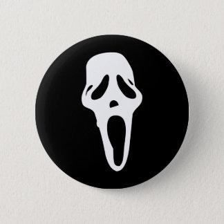 Bóton Redondo 5.08cm Monstro - fantasma