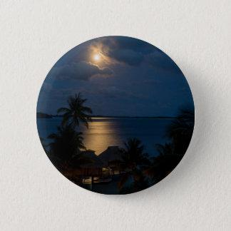 Bóton Redondo 5.08cm Moon on bora bora