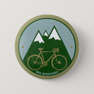 Bóton Redondo 5.08cm motociclistas aventura, montanhas
