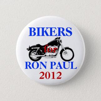 Bóton Redondo 5.08cm Motociclistas para o botão de Ron Paul