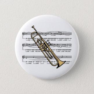 Bóton Redondo 5.08cm Musical 11 B da trombeta