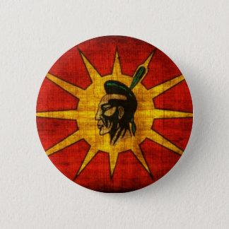 Bóton Redondo 5.08cm Nação do Mohawk