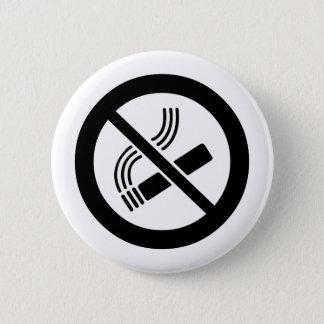 Bóton Redondo 5.08cm Não fumadores