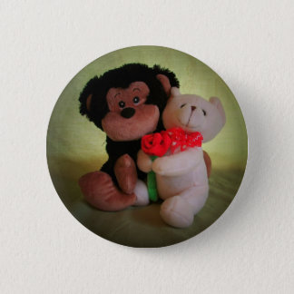Bóton Redondo 5.08cm Não monkey com meu urso de ursinho