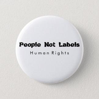 Bóton Redondo 5.08cm Não pessoas do botão das etiquetas