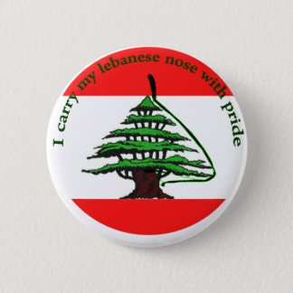 Bóton Redondo 5.08cm Nariz libanês