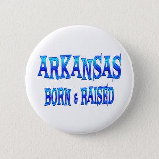 Bóton Redondo 5.08cm Nascer de Arkansas & aumentado
