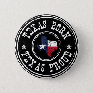 Bóton Redondo 5.08cm Nascer de Texas do vintage - Texas orgulhoso