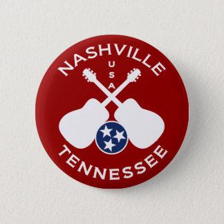 Bóton Redondo 5.08cm Nashville, Tennessee EUA