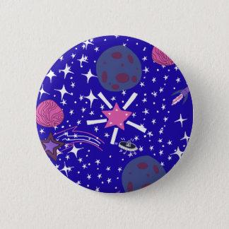 Bóton Redondo 5.08cm nebulosa