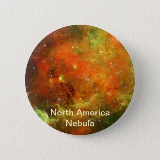 Bóton Redondo 5.08cm Nebulosa de America do Norte
