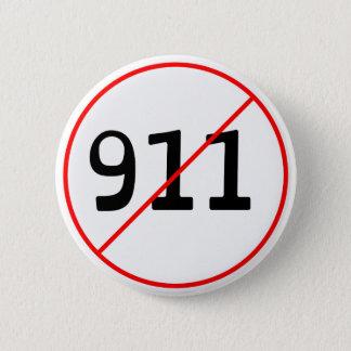 Bóton Redondo 5.08cm NENHUM 911 logotipo A