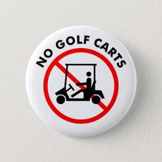 Bóton Redondo 5.08cm Nenhum botão dos carros de golfe