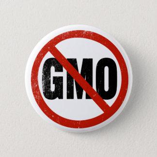 Bóton Redondo 5.08cm Nenhum GMO, não GMO, março contra Monsanto