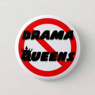 Bóton Redondo 5.08cm Nenhum Queens do drama