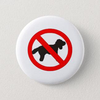 Bóton Redondo 5.08cm Nenhum sinal dos cães