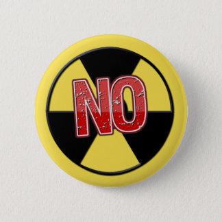 Bóton Redondo 5.08cm Nenhumas armas nucleares