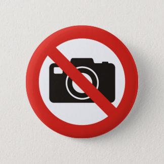 Bóton Redondo 5.08cm Nenhumas fotos permitidas