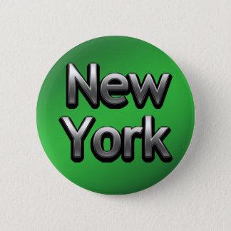 Bóton Redondo 5.08cm New York industrial - no verde