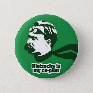 Bóton Redondo 5.08cm Nietzsche