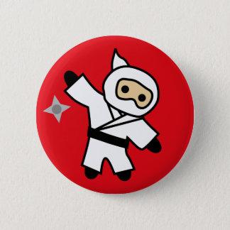 Bóton Redondo 5.08cm ninja 5
