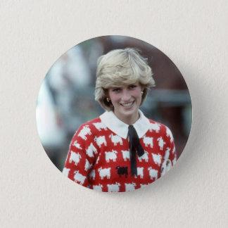 Bóton Redondo 5.08cm No.42 polo 1983 da princesa Diana