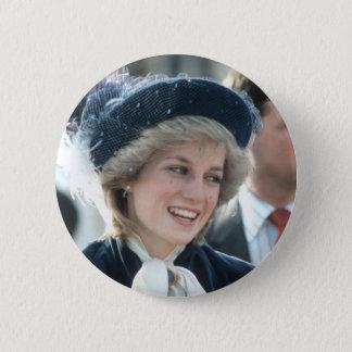 Bóton Redondo 5.08cm No.98 princesa Diana Wantage 1983