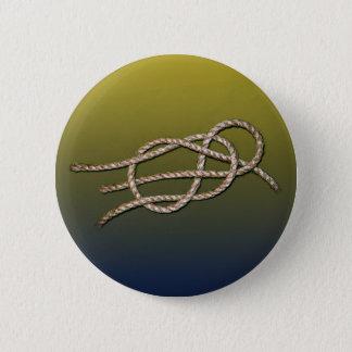 Bóton Redondo 5.08cm Nó solitário - botão redondo