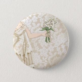 Bóton Redondo 5.08cm Noiva do marfim