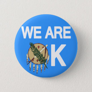 """Bóton Redondo 5.08cm """"Nós somos"""" botão APROVADO do alivio do furacão de"""